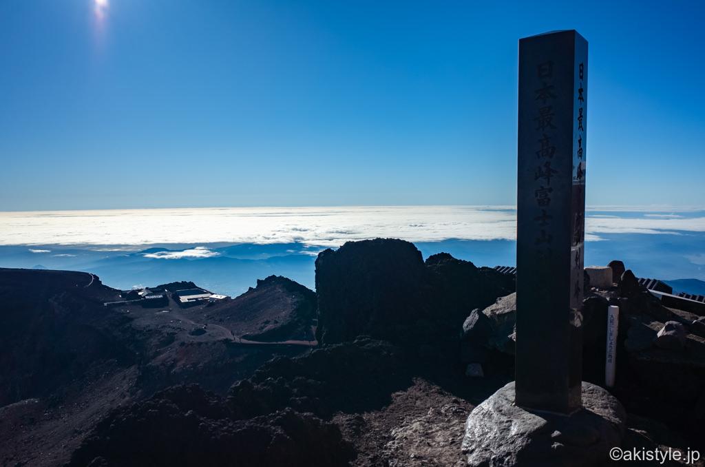 富士登山と剣ヶ峰