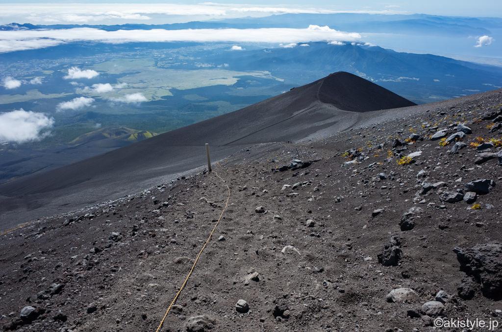 富士登山と宝永山