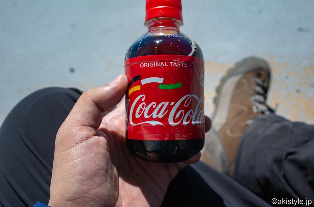 富士登山とコーラ
