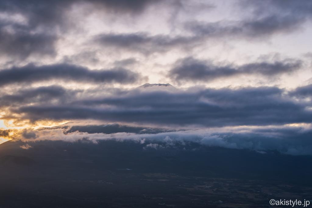 竜ヶ岳からの富士山