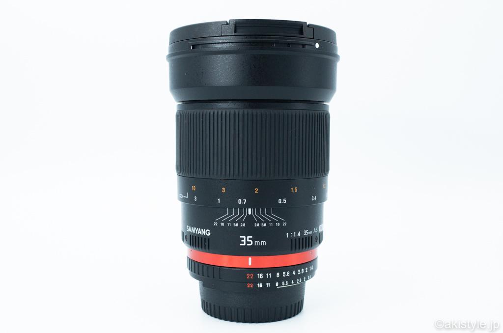 サムヤン 35mm F1.4