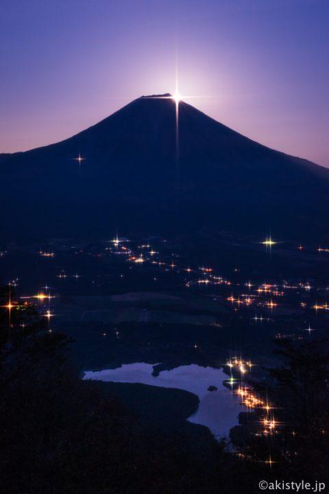 長者ヶ岳からのパール富士