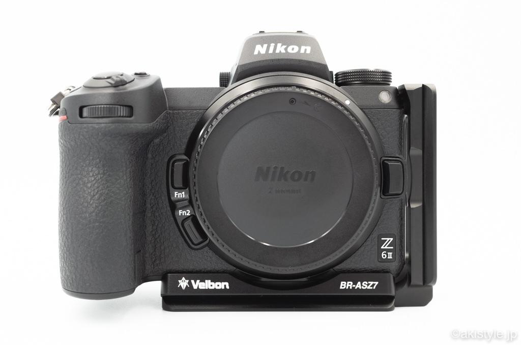 Velbon BR-ASZ7とZ6II