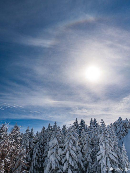 北横岳の樹氷