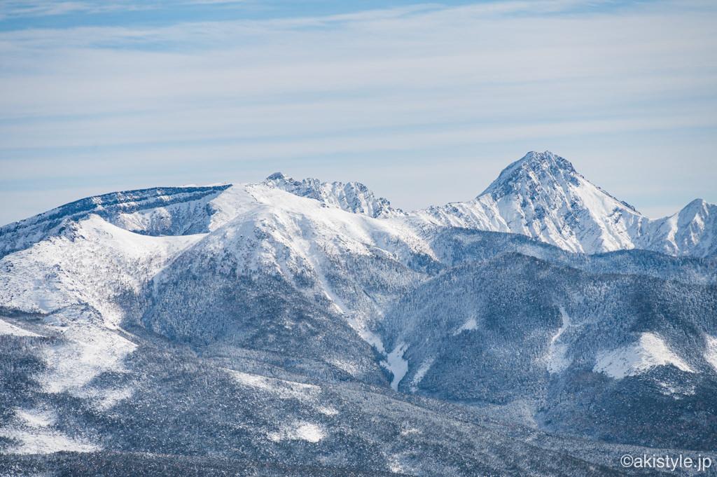 赤岳、横岳、硫黄岳