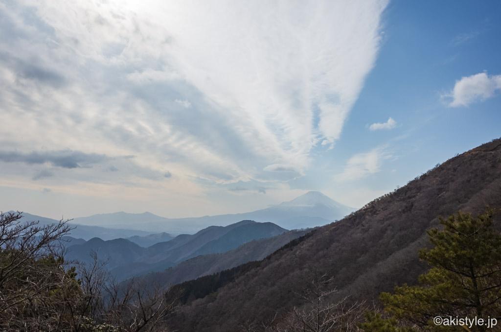 花立山荘からの富士山