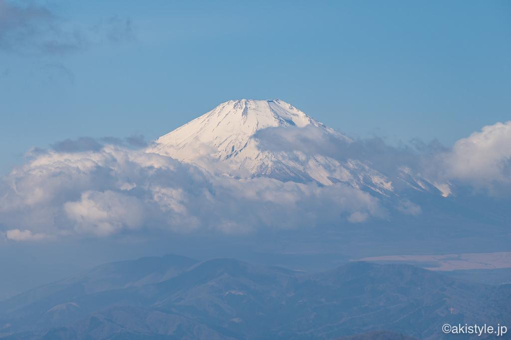 塔ノ岳からの富士山