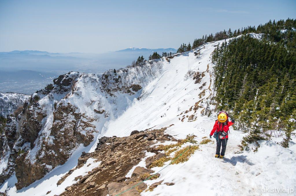 黒斑山登山コース