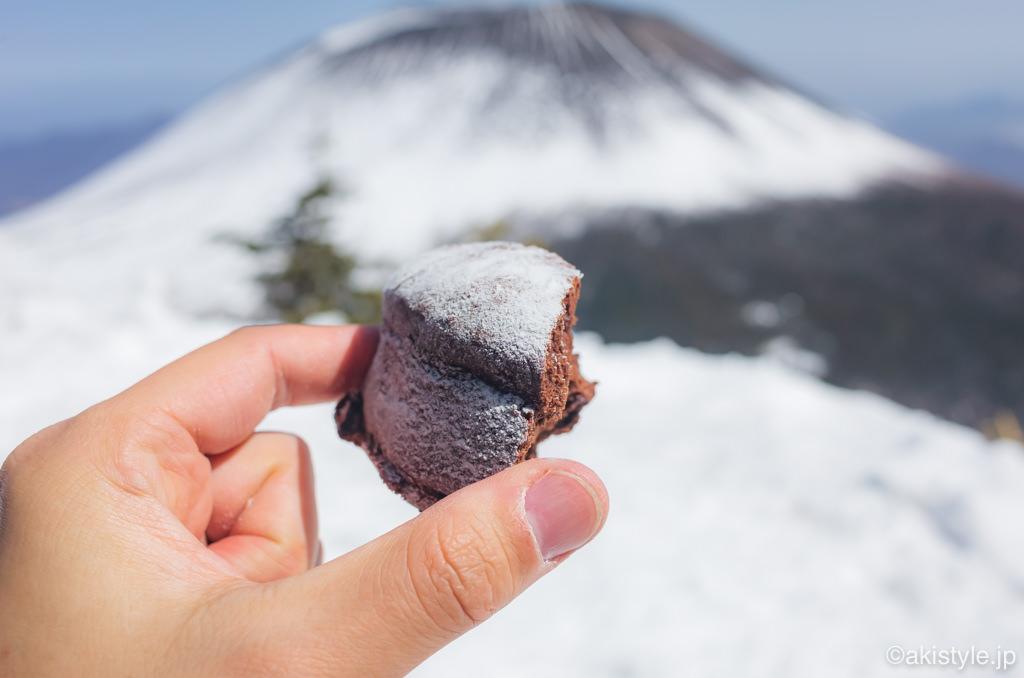 浅間山とガトーショコラ