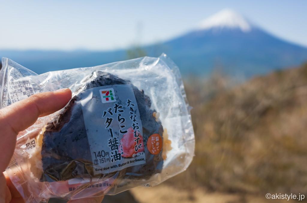鬼ヶ岳から見る富士山