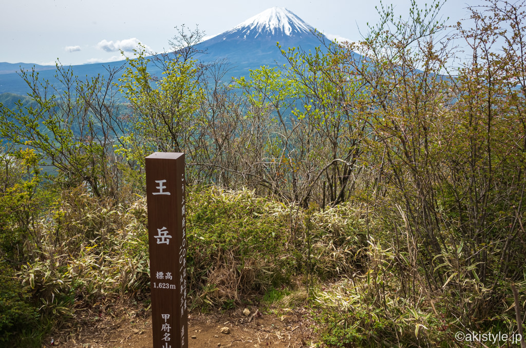 王岳と富士山
