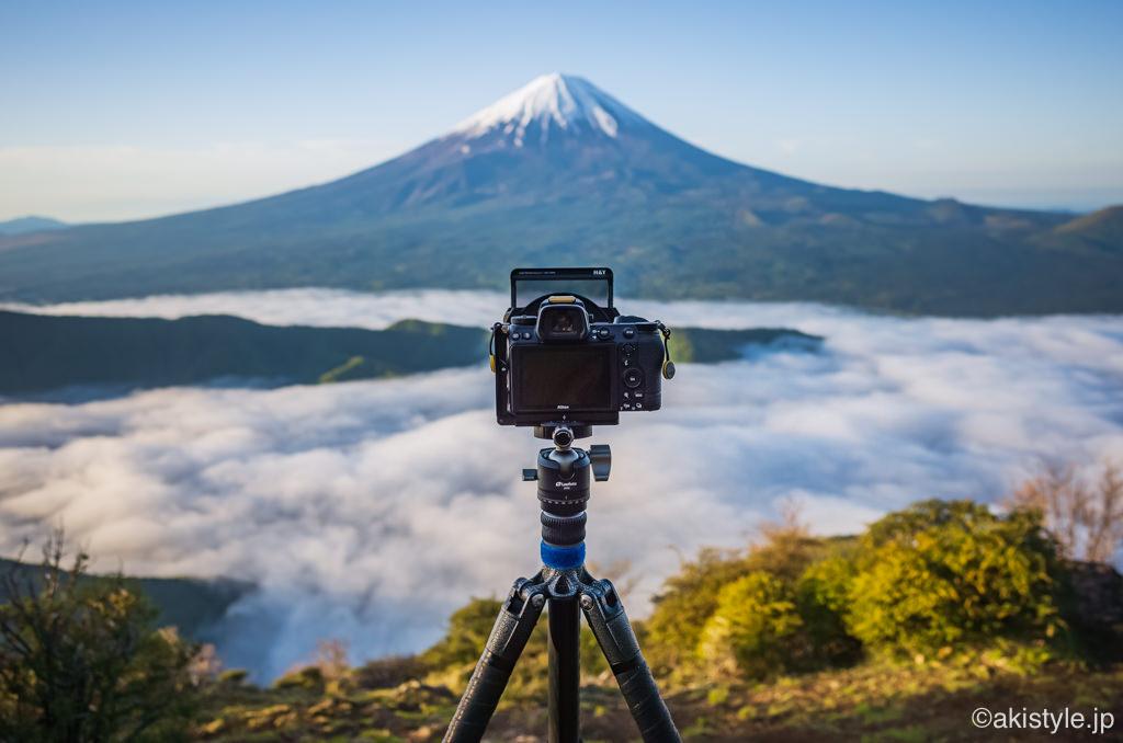 Leofoto LH-30と富士山