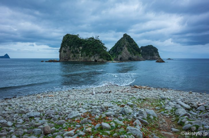 堂ヶ島のトンボロ